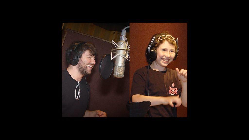 VS - BTS School of Rock Recording - 8/15 - Alex Brightman