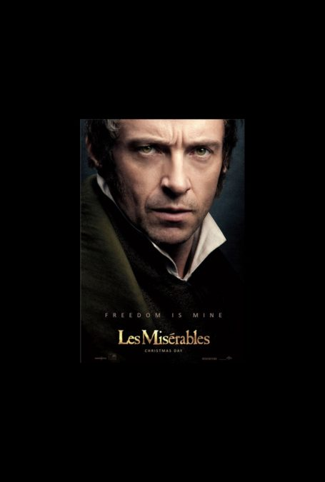 Hot Shot - Les Miserables Poster Hugh Jackman - 10/12