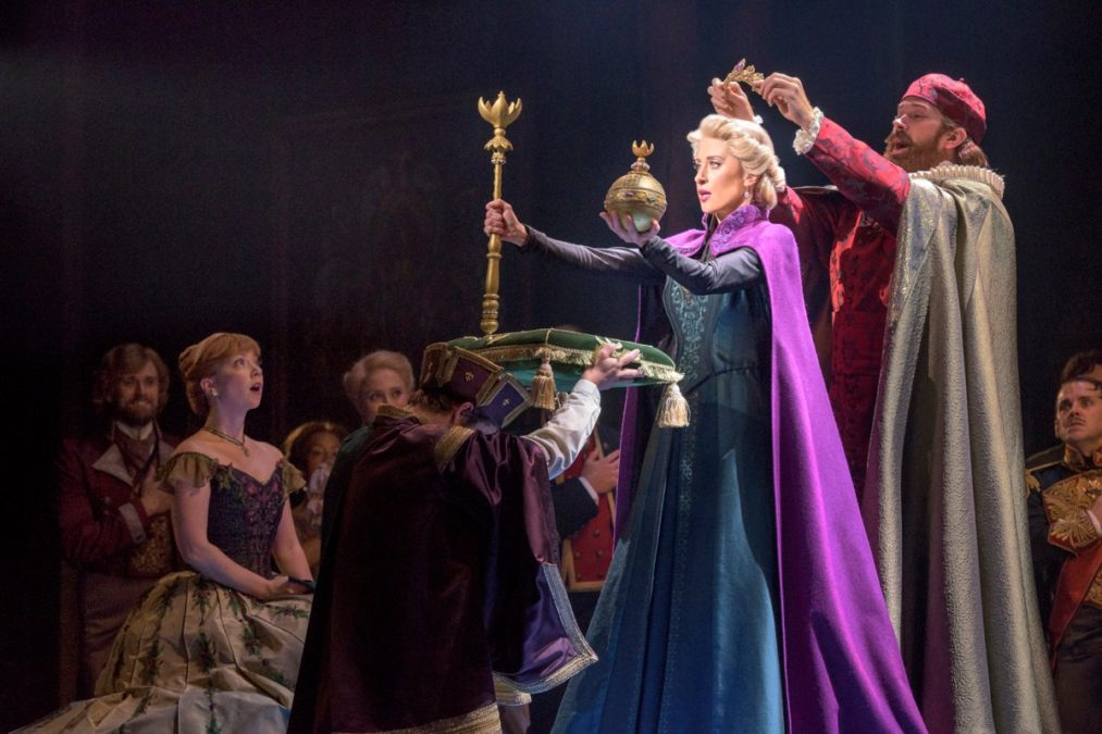 Show Photos - Frozen - 3/18 - Caissie Levy - Photo: Deen van Meer