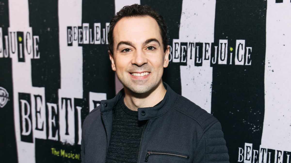 Rob McClure - 02/2019 - Emilio Madrid for Broadway.com