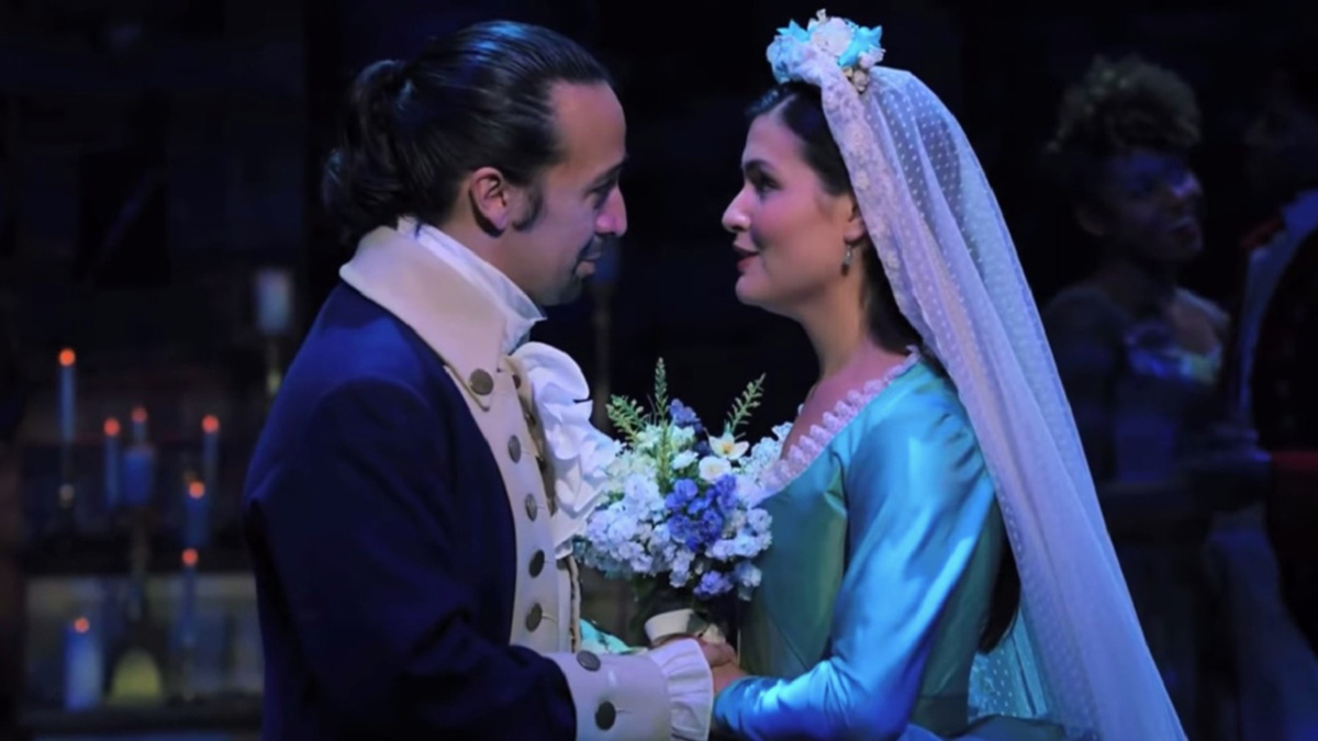 Lin-Manuel Miranda - Phillipa Soo - 1/21 - Hamilton on Disney+