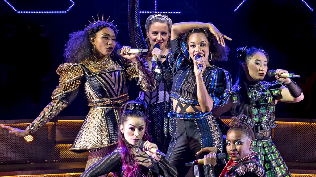 PS - Six - Chicago Shakespeare Theater - (back row) Adrianna Hicks