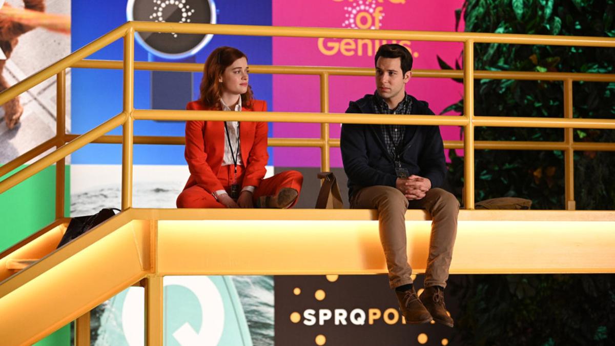 Jane Levy - Skylar Astin - 6/21 - Sergei Bachlakov/NBC/Lionsgate